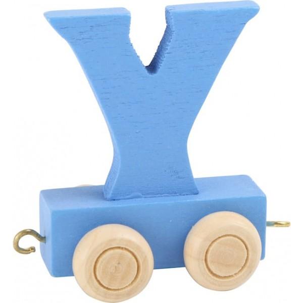 Vlak - črka Y
