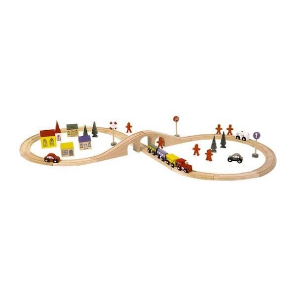 Velika lesena železnica