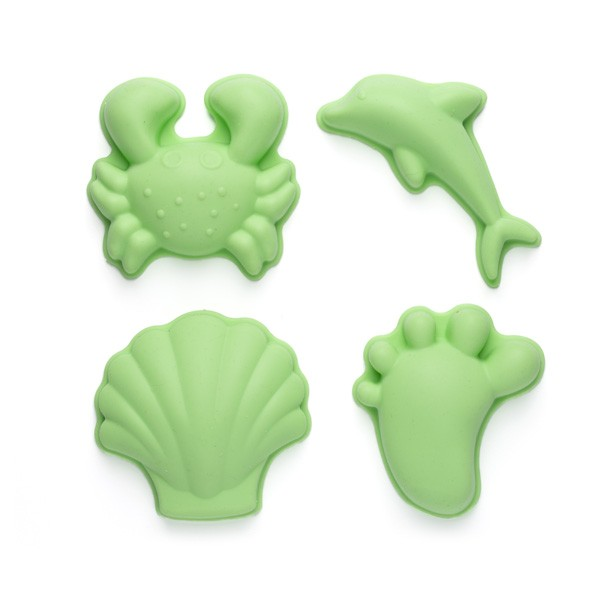 Silikonski modelčki za peskovnik - Zeleni