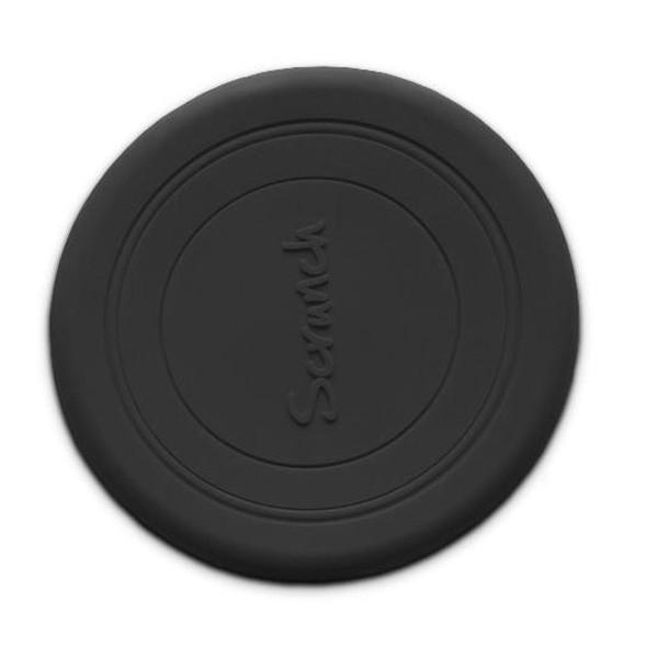 Silikonski frizbi - Temno siv