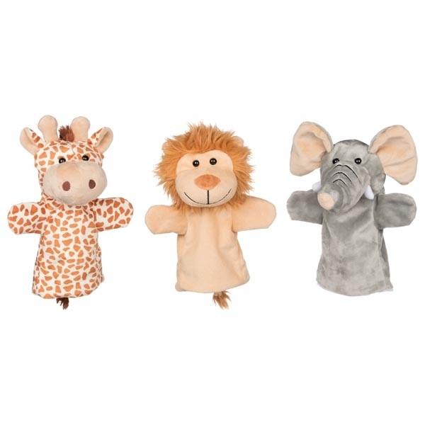 Ročne lutke - živali iz Afrike