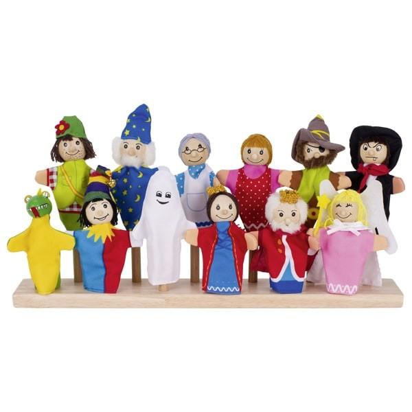 Naprstne lutke - Pravljični junaki set 1