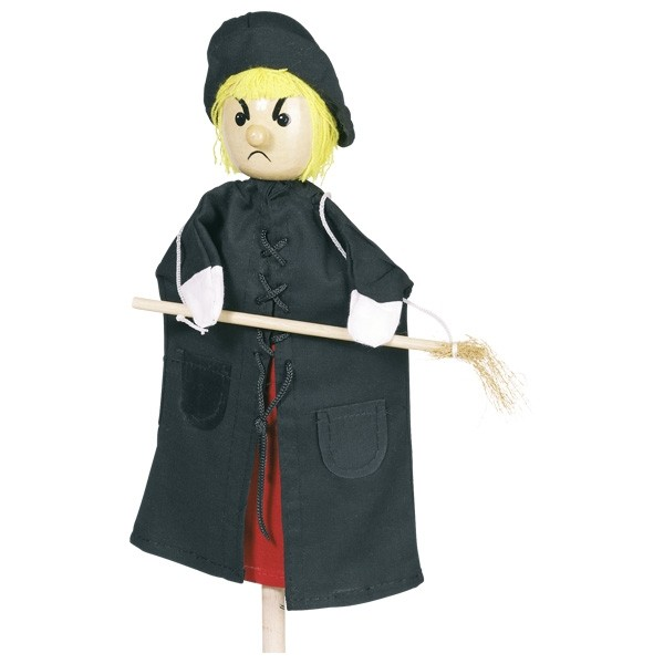 Ročne lutke - čarovnica
