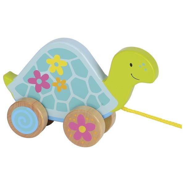 Želva na vrvici
