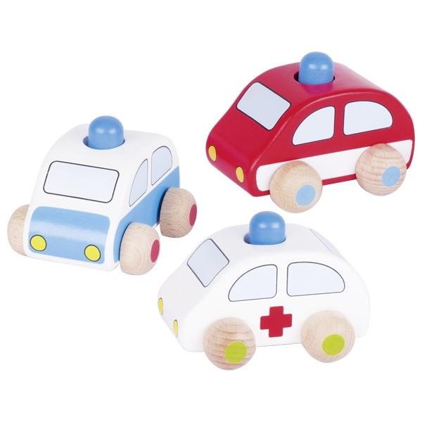 Avtomobilček - Rešilec, gasilec, policaj