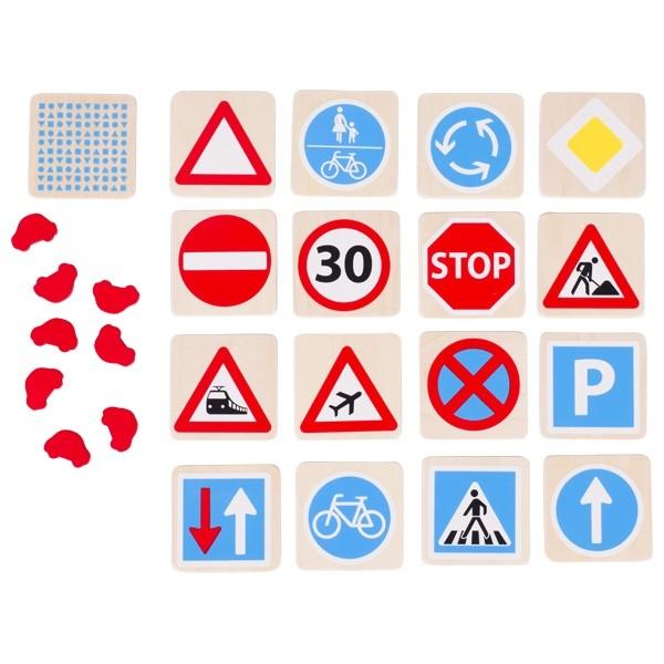 Spomin - Prometni znaki