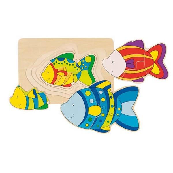 Sestavljanka - Ribe po velikosti