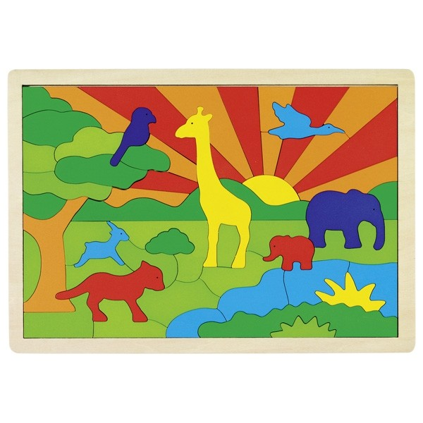 Puzzle - Džungla