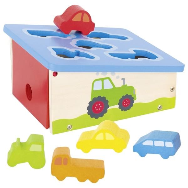 Vstavljanka - Razvrstimo vozila