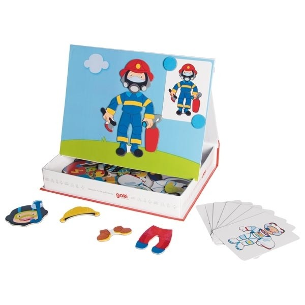 Igra z magnetki - Obleči fantka