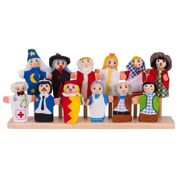 Naprstne lutke - Pravljični junaki set 2