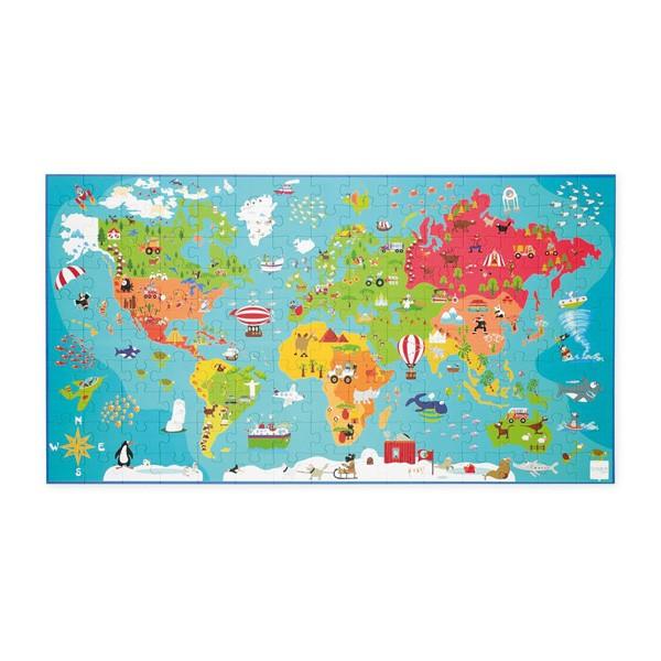 Puzzle v škatli - Okoli sveta XXL