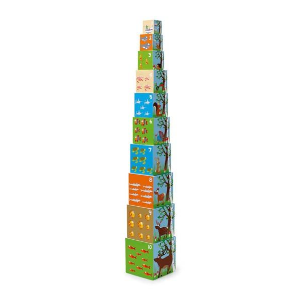 Stolp iz kock - Živali sveta