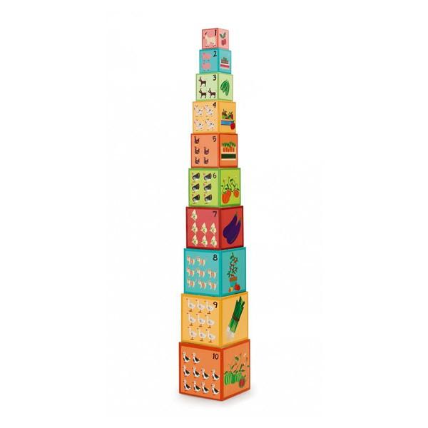 Stolp iz kock - Kmetija