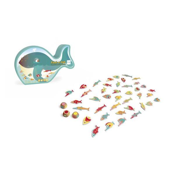 Družabna igra - Najdi ribo