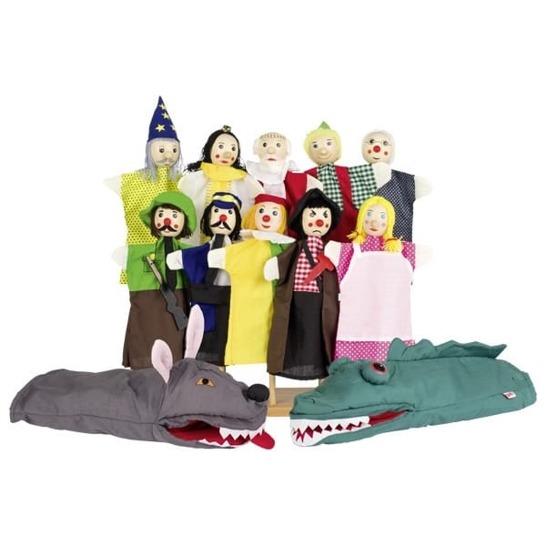 Ročne lutke - set 1