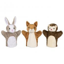 Ročne lutke - gozdne živalice