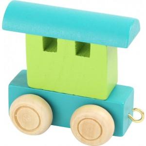 Vlak Vagon - Zeleni