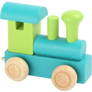 Vlak Lokomotiva - Zelena
