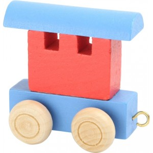 Vlak Vagon - Rdeči