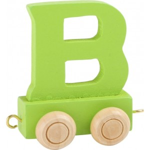 Vlak - črka B