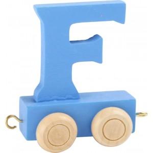 Vlak - črka F