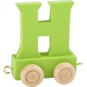 Vlak - črka H