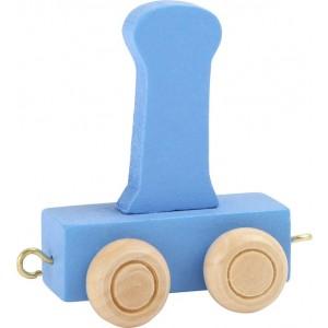 Vlak - črka I