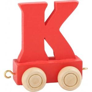 Vlak - črka K