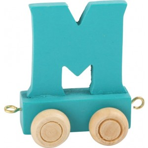 Vlak - črka M