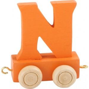 Vlak - črka N