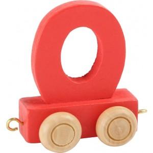 Vlak - črka O
