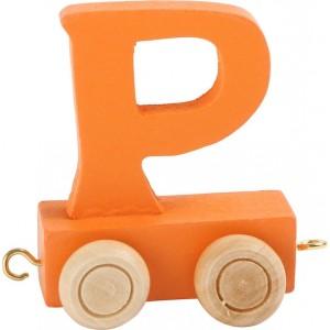 Vlak - črka P