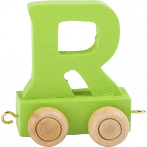 Vlak - črka R
