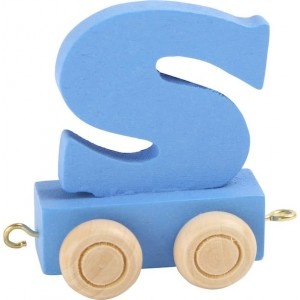 Vlak - črka S