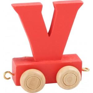 Vlak - črka V