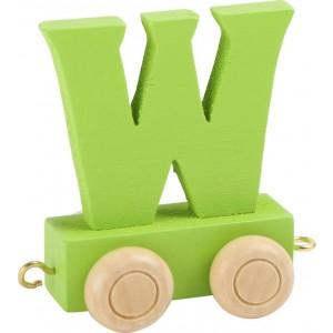 Vlak - črka W