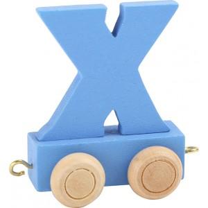 Vlak - črka X