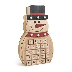 Adventni koledar Snežak