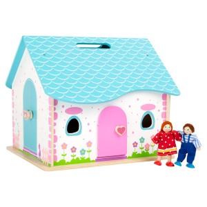 Hiša za punčke - Zložljiva