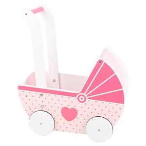 Lesen voziček za punčke - Roza