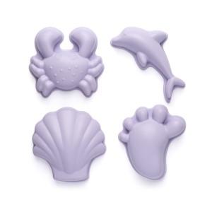 Silikonski modelčki za peskovnik - Vijolični