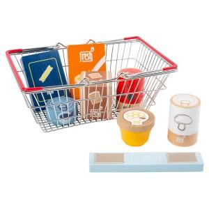 Nakupovalna košara z živili