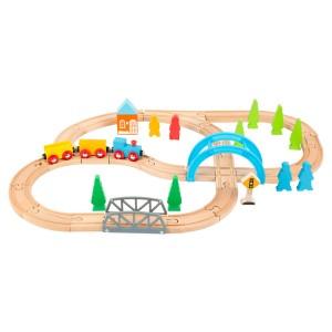 Lesena železnica - Barvna