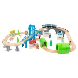 Lesena železnica - Mostovi