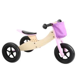 Veliki tricikel / poganjalec - Roza