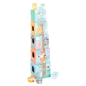 Stolp iz kock - Pastel