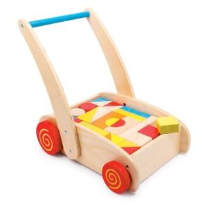 Voziček za hojo - kocke