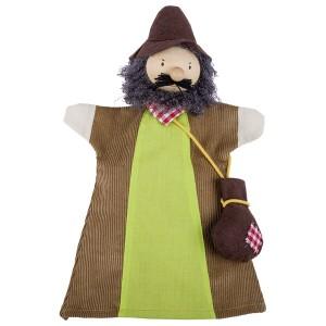 Ročne lutke - gozdni mož