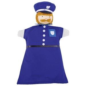 Ročne lutke - policaj 2